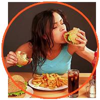 Chế độ ăn uống không hợp lý