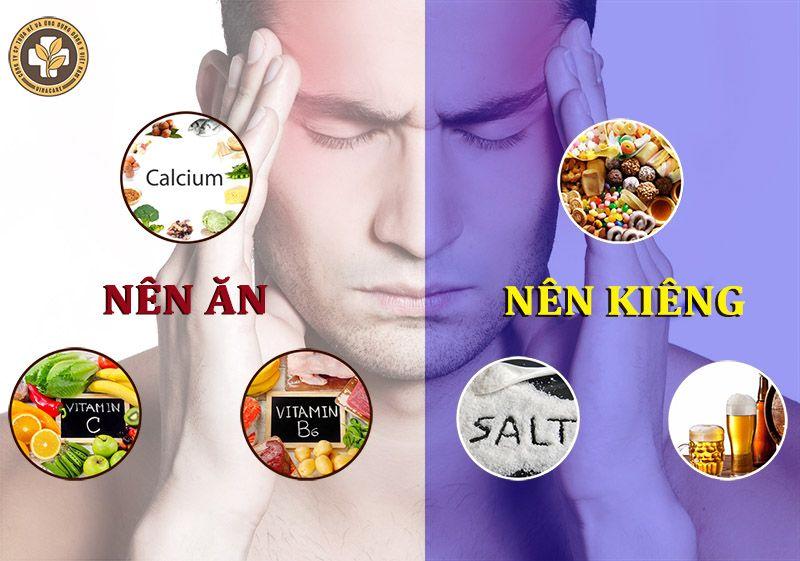Đau đầu nên ăn gì và kiêng ăn gì?