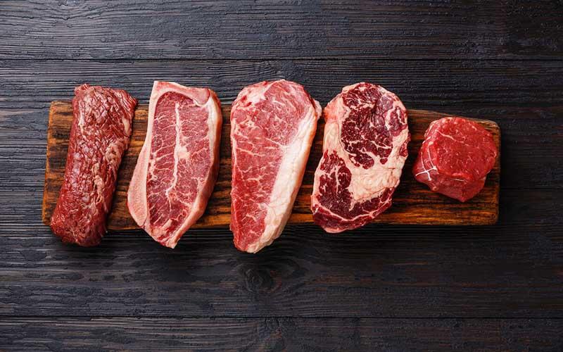 Một số loại thịt đỏ