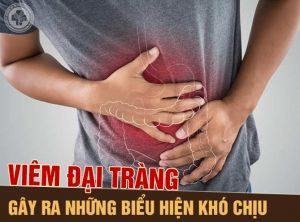 Viêm đại tràng gây ra những triệu chứng khó chịu