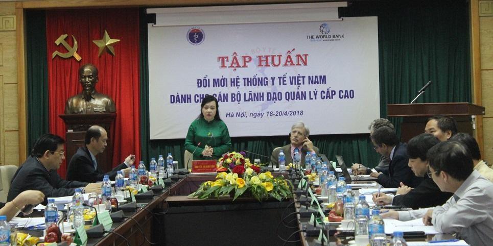 Bộ trưởng Y tế chia sẻ về đổi mới hệ thống y tế