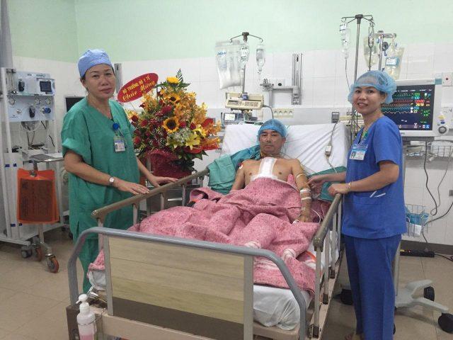 Ghép thành công tim từ Hà Nội vào Huế