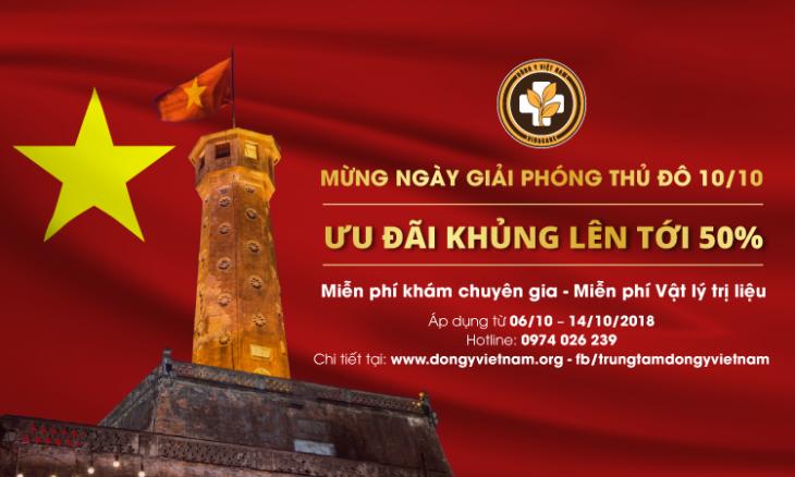 Đông y Việt Nam khuyến mãi giải phòng thủ đô