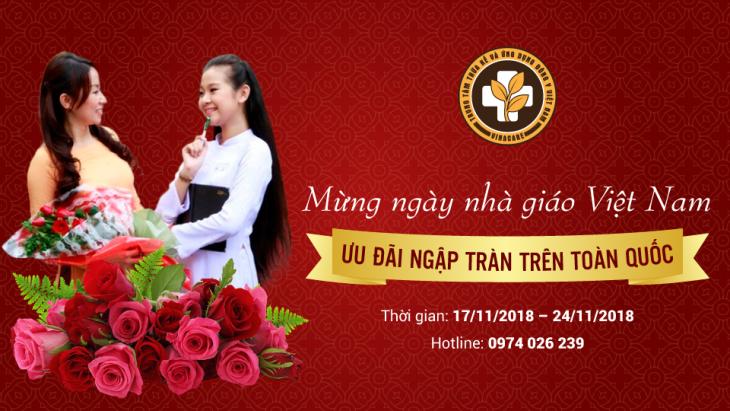 dongyvietnam.org ưu đãi mừng ngày nhà giáo Việt Nam