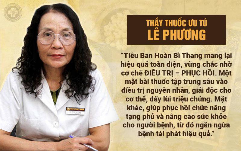 Bác sĩ Phương đánh giá Tiêu Ban Hoàn Bì Thang