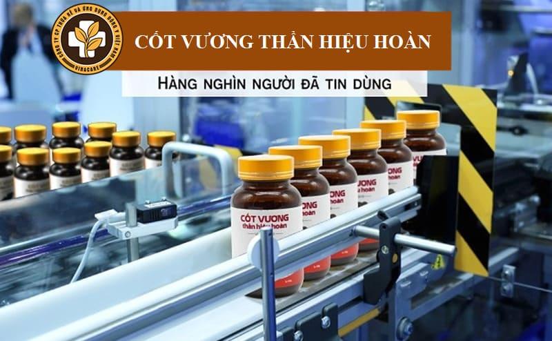 Sản phẩm Cốt Vương Thần Hiệu Hoàn giúp người bệnh sử dụng tiện lợi trong điều trị đau dây thần kinh tọa