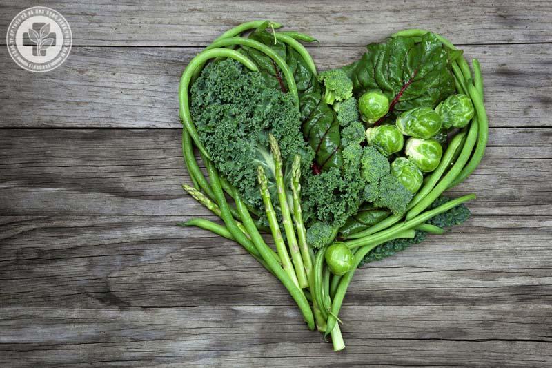 Người bị bệnh trĩ nên ăn nhiều rau xanh