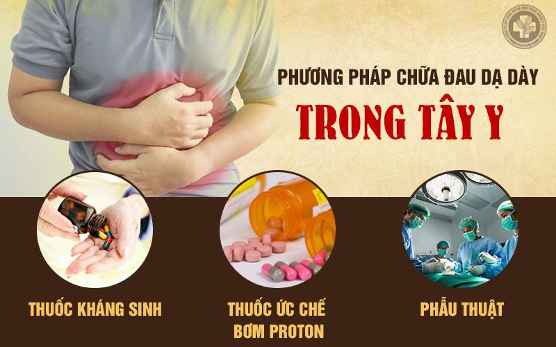 Những phương pháp chữa đau dạ dày trong Tây y