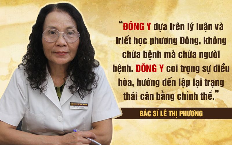 Chia sẻ của Thầy thuốc ưu tú Lê Phương về Đông y