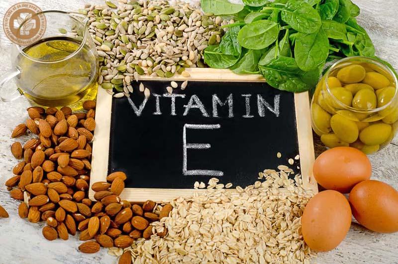 Thiếu hụt vitamin E gây khô da
