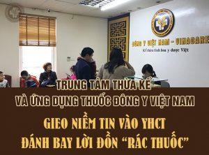 Trung tâm thừa kế và ứng dụng Đông y Việt Nam - Vinacare.