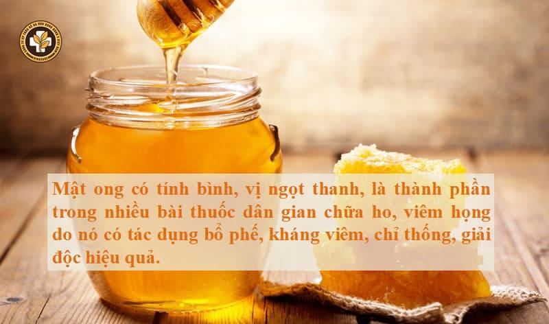 Chữa viêm họng tại nhà bằng mẹo dân gian từ mật ong