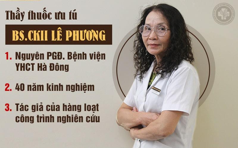Chân dung bác sĩ Lê Phương