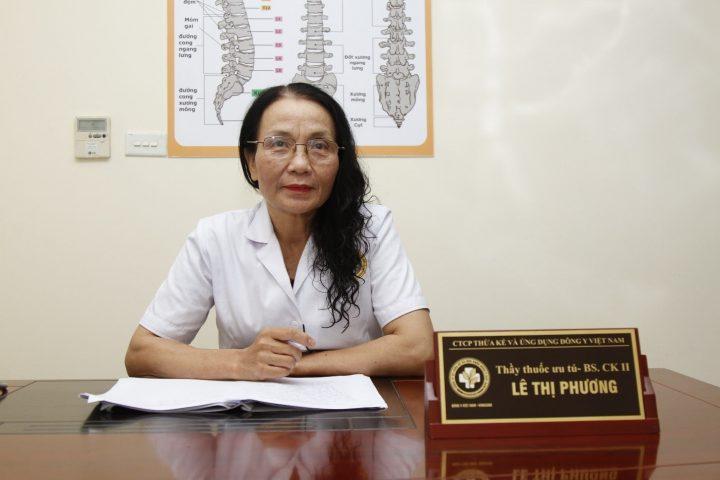 Bác sĩ Lê Phương - Giám đốc chuyên môn tại Trung tâm Thừa kế và Ứng dụng Đông y Việt Nam