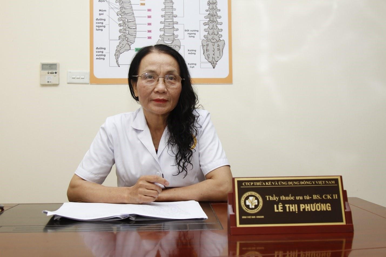 Bác sĩ Lê Phương- Người đã chữa khỏi bệnh viêm amidan cho cả 2 bé nhà chị Trúc