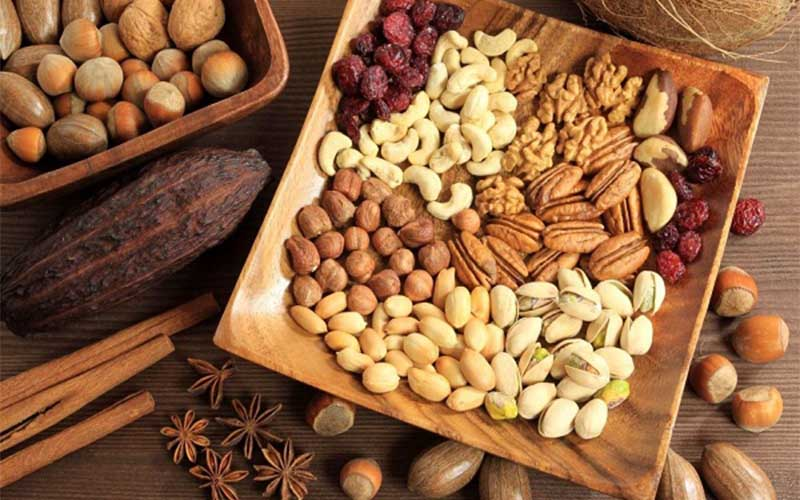 Các loại quả hạch tốt cho sức khỏe của tim mạch