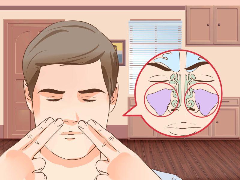 Massage mũi giúp cải thiện bệnh lý viêm xoang