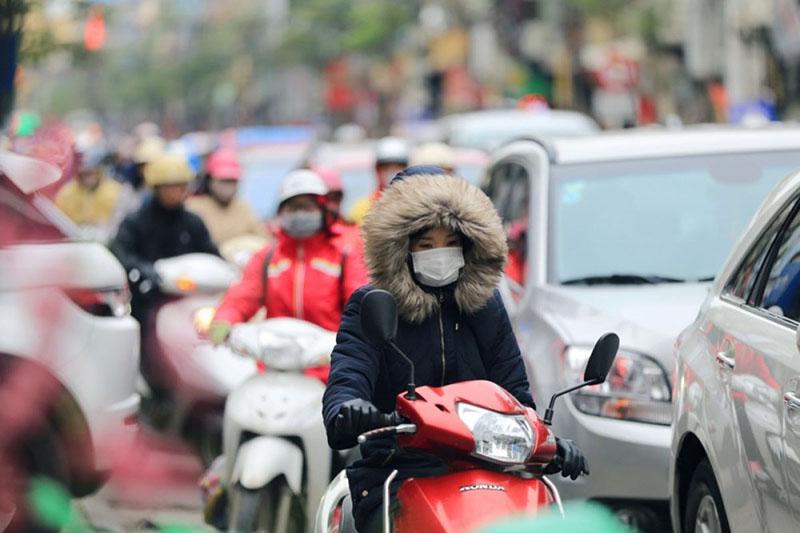 Thời tiết ở miền Bắc vào dịp Tết thường chuyển lạnh đột ngột
