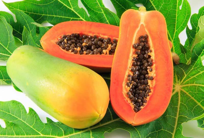 Đu đủ chín giàu vitamin và khoáng chất, đặc biệt là vitamin C