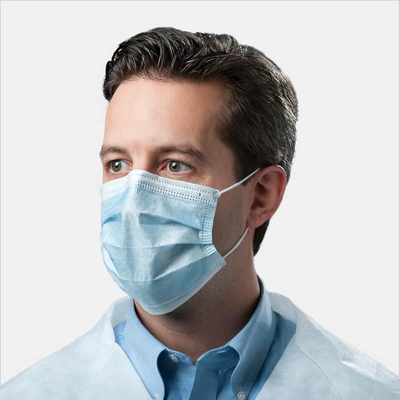 Sử dụng khẩu trang y tế đúng cách giúp ngăn ngừa virus corona