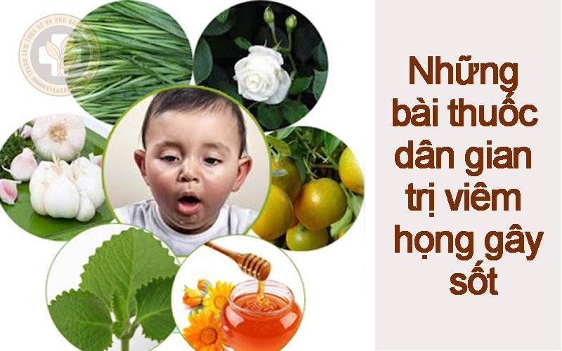 Những bài thuốc dân gian trị viêm họng gây sốt được tin dùng