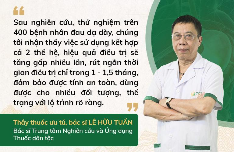 Bác sĩ Tuấn đưa ra nhận định về Sơ can Bình vị tán 2