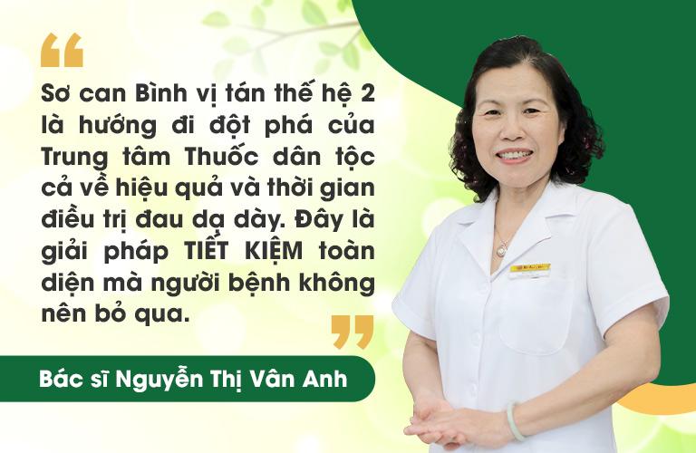Tiến sĩ Vân Anh chia sẻ về bài thuốc