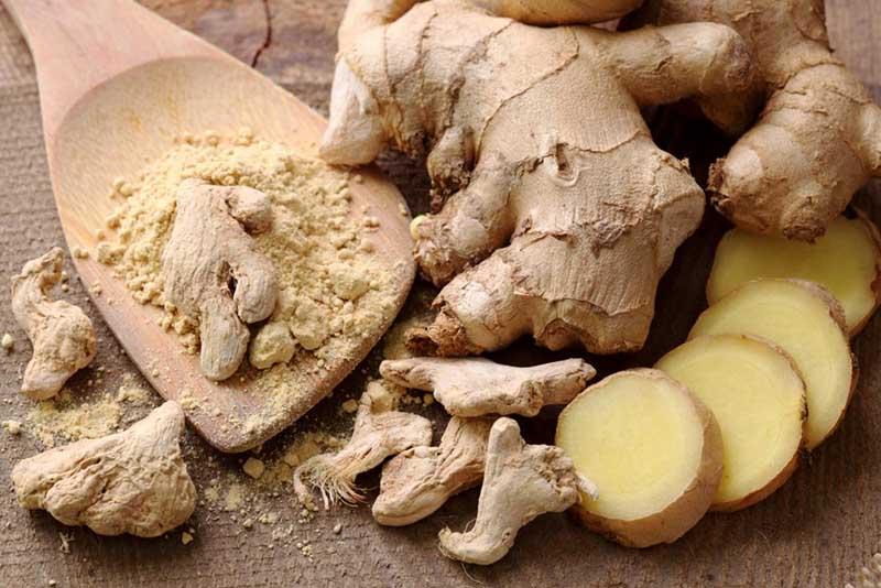 Hợp chất ginger trong gừng cũng giúp ức chế vi khuẩn RSV - chủng virus gây bệnh viêm họng