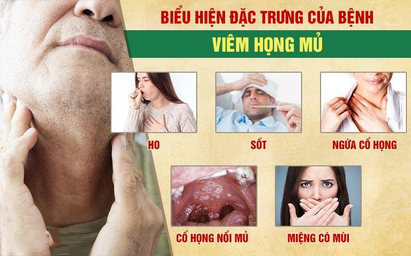 Bệnh có nhiều triệu chứng điển hình