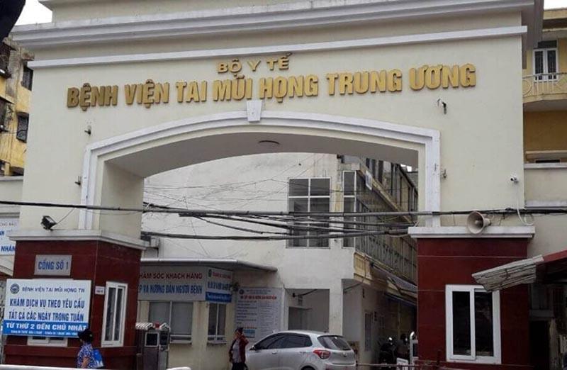 Bệnh viện Tai Mũi Họng TW chữa trị áp xe amidan