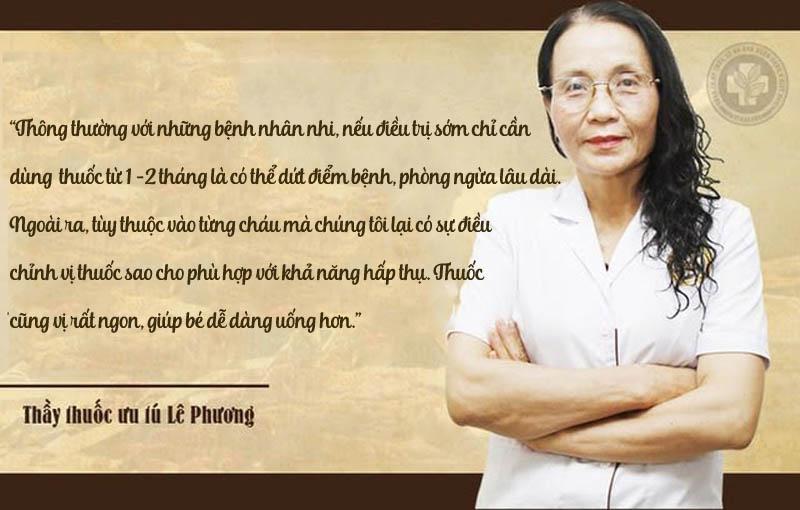 Bác sĩ Lê Phương chia sẻ về bài thuốc
