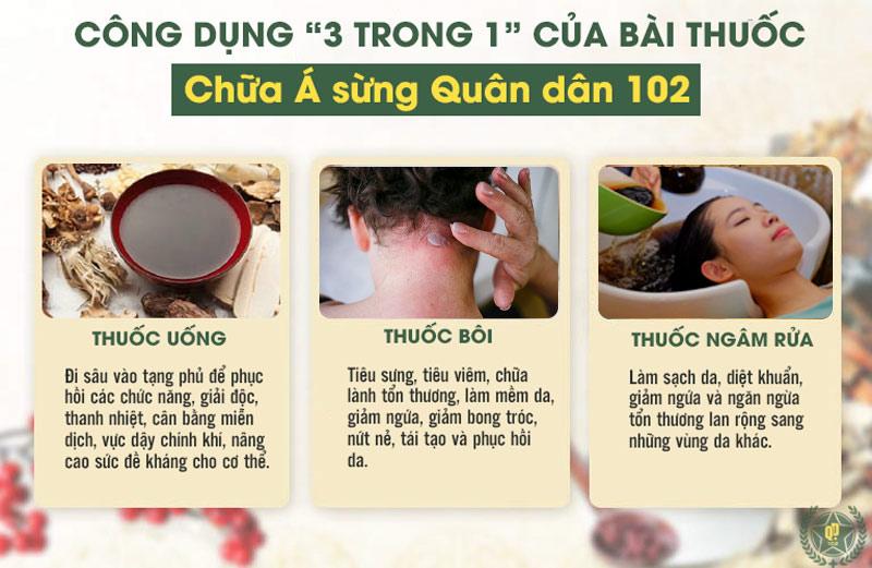 """Kết hợp """"trong uống, ngoài bôi, gội rửa"""" giúp mang đến phác đồ điều trị á sừng da đầu hoàn chỉnh nhất"""