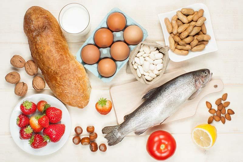 Các loại thực phẩm dễ dị ứng đứng đầu danh sách các thực phẩm nên tránh