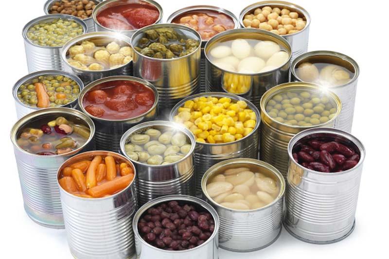 Ăn nhiều thực phẩm đóng hộp không có lợi cho sức khỏe của người bệnh á sừng