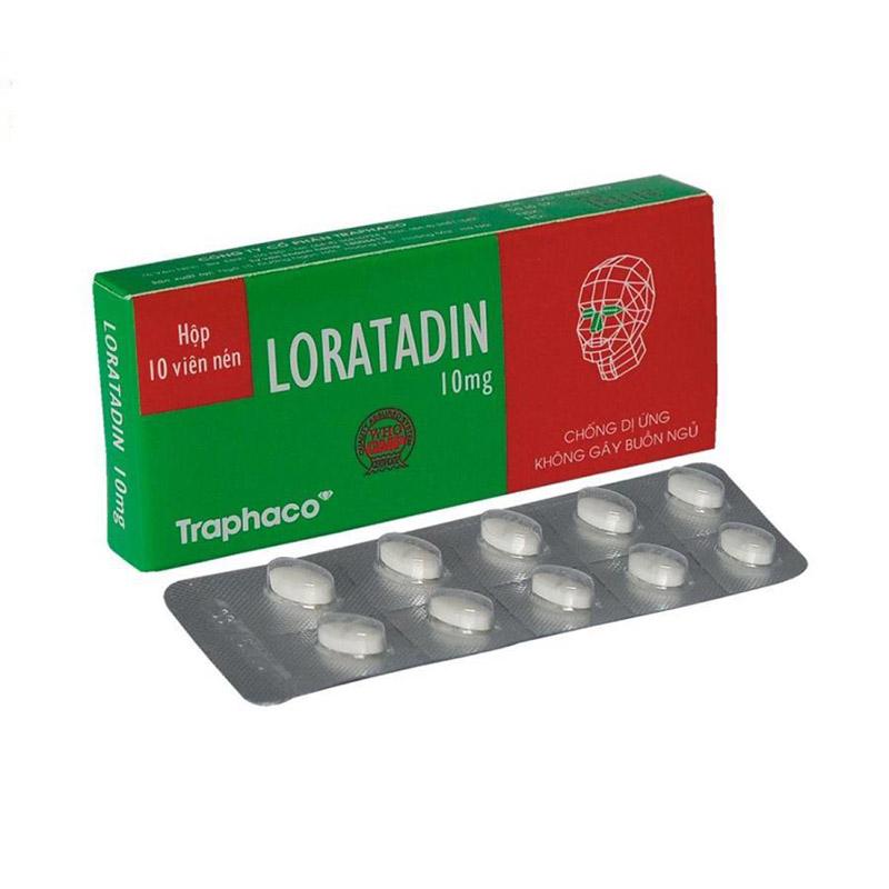 Thuốc chống dị ứng thường được sử dụng để cải thiện các triệu chứng bệnh