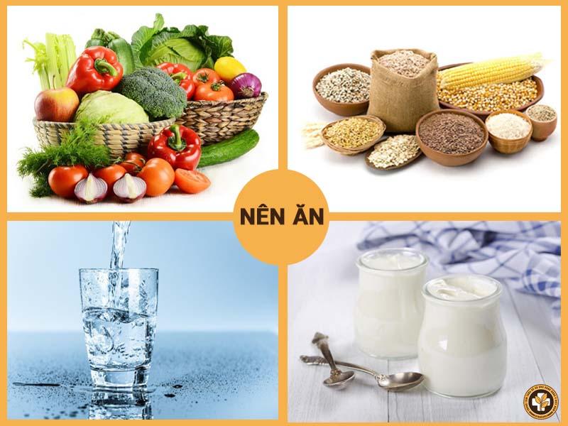 Các loại thực phẩm người bệnh tổ đỉa nên tăng cường