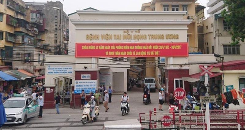 Bệnh viện Tai Mũi Họng Trung ương là bệnh viện tuyến đầu của cả nước