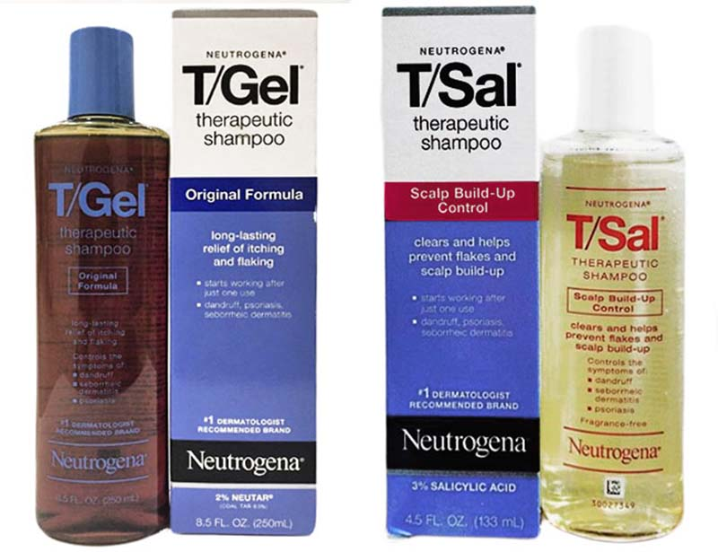 Neutrogena T/Sal Therapeutic chứa Acid Salicylic tốt cho da đầu bị á sừng