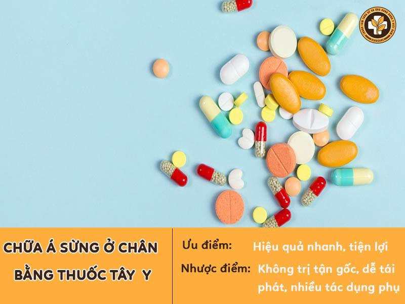 Thuốc Tây y có thể gây nhiều tác dụng phụ nên cần thận trọng khi sử dụng