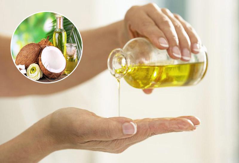 Sử dụng dầu dừa thường xuyên để cải thiện các triệu chứng bệnh vảy nến