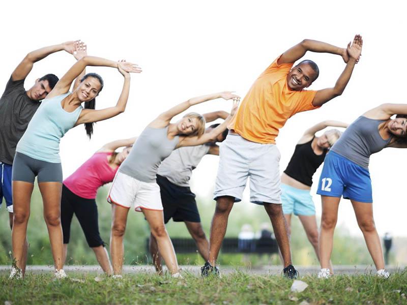 Tập thể dục đều đặn giúp giảm căng thẳng và giữ cân nặng hợp lý