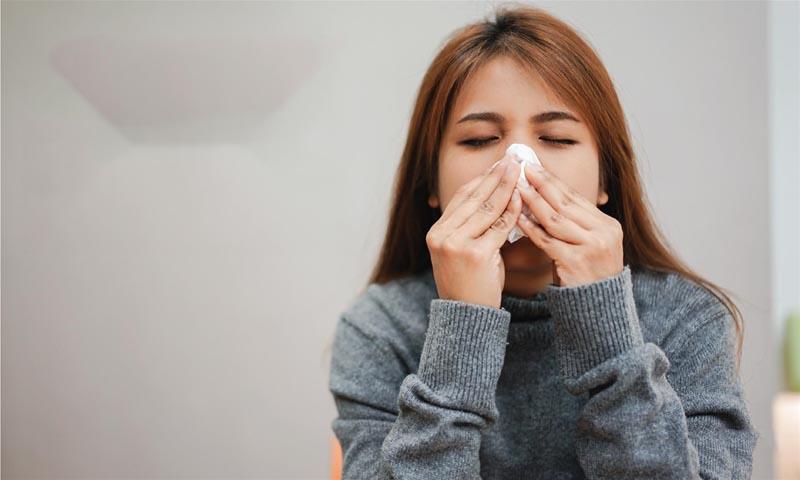 Nghẹt mũi là dấu hiệu viêm xoang hàm