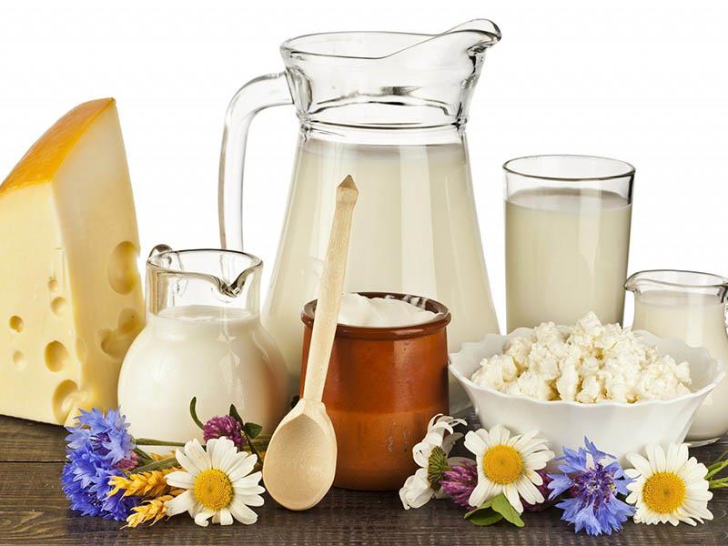 Trẻ bị viêm amidan nên ăn gì? Sữa và chế phẩm từ sữa