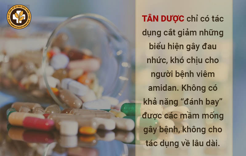 Thuốc Tây chữa viêm amidan cho trẻ