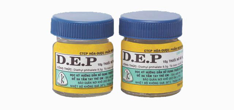 Thuốc mỡ D.E.P được sửu dụng phổ biến chữa tổ đỉa