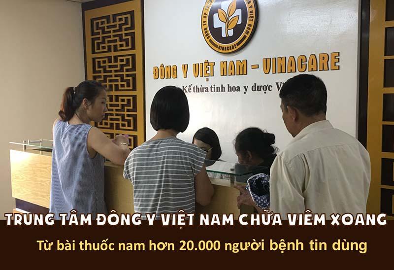 Trung tâm Đông y Việt Nam - đơn vị chữa viêm xoang hàng đầu