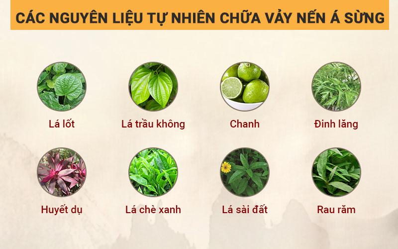 Một số nguyên liệu tự nhiên chữa vảy nến á sừng tại nhà
