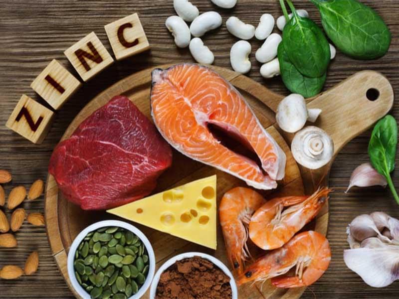Người bệnh nên bổ sung thực phẩm giàu kẽm