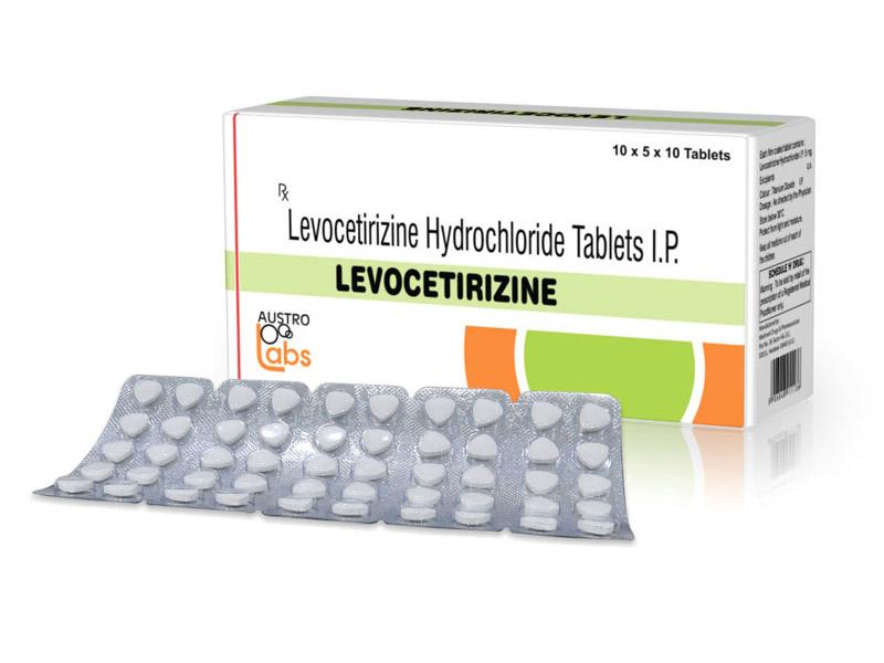 Levocetirizine là thuốc kháng histamin thế hệ mới