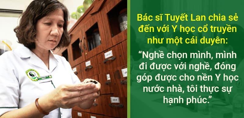 Bác Nguyễn Thị Tuyết Lan - Chuyên gia trị vảy nến bằng YHCT được nhiều bệnh nhân tin tưởng
